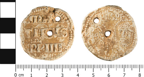 WMID-843708: Medieval: Incomplete papal bulla of Pope Martin IV