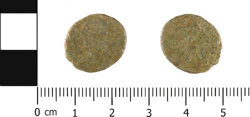 WMID984: Roman coin: Complete nummus of House of Constantine