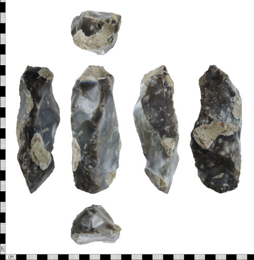 DENO-1A2E18: Early Mesolithic tranchet axehead