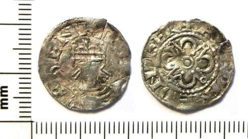 PUBLIC-24C5A6: Medieval coin : Penny of Henry I