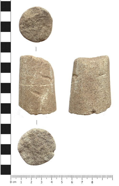 PUBLIC-0584C2: Post-medieval conical whetstone