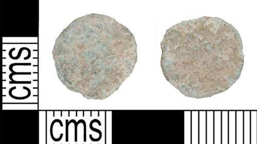 KENT-91863F: Contemporary Copy of a CONSTANTINOPOLIS nummus
