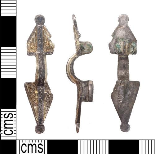 KENT-028FFE: Small Frankish Asymmetric brooch