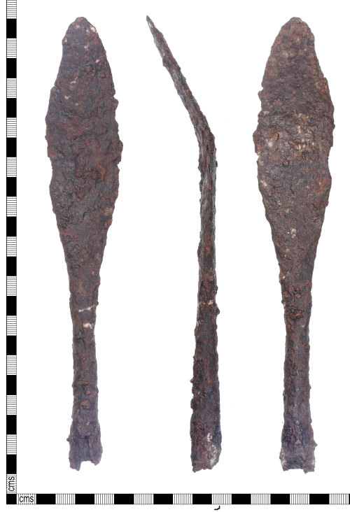 KENT-0B9AD2: An Early-Medieval Spear head