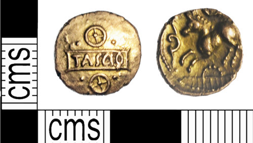 A resized image of Sego Tascio tablet quarter stater