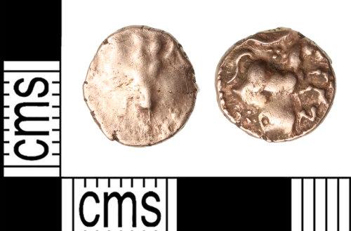 KENT-1238FA: 1/4 stater of Cunobelin