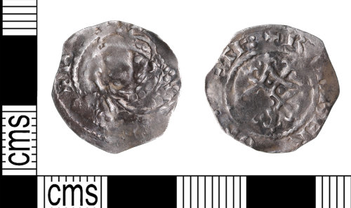 KENT-21B759: Henry I penny of the Thetford Mint