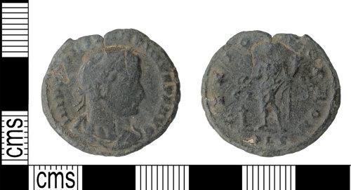 KENT-2233CA: Genio pop rom nummus of Constantine I