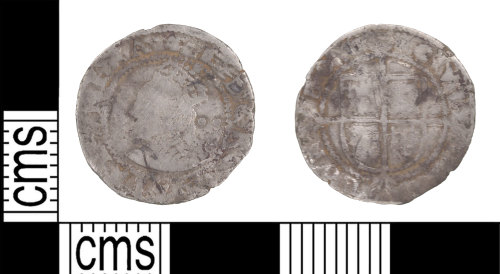 KENT-24F14F: Halfgroat of Elizabeth II