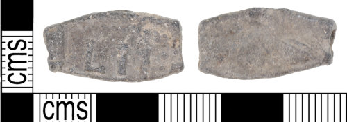 KENT-2954E2: Late 16th-17th Century immigrant quarter cloth seal