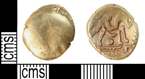 KENT-2CAC8C: Gold uniface stater