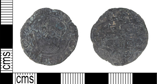 KENT-2E929C: jetton Medieval crown type