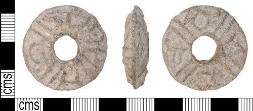 KENT-2F3C88: Spindle whorl