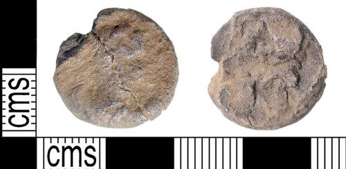 KENT-312FBA: Silver roman Denarius uncertian emperor and reverse type