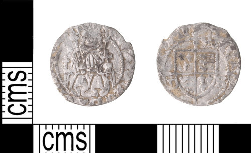 KENT-316699: Penny of Henry VII
