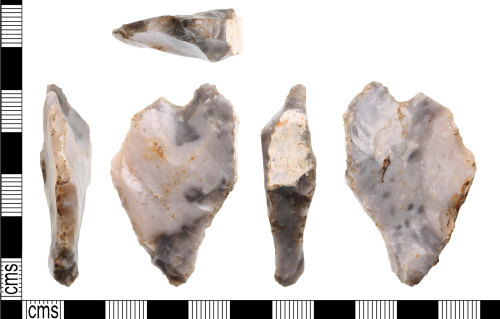A resized image of Flint tool