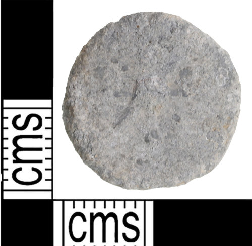 A resized image of plain lead token