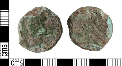 KENT-5AF7F1: Sestertius of Marcus Aurelius