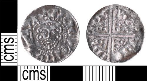 KENT-5E96CC: Voided long cross penny