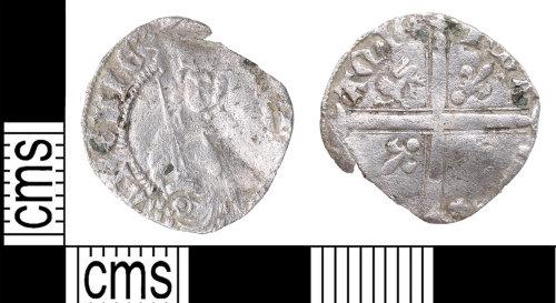 KENT-75C31B: aquitaine coin of Henry IV, V or VI