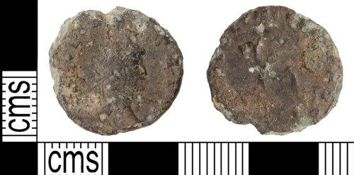 KENT-76BC67: Gallienus radiate