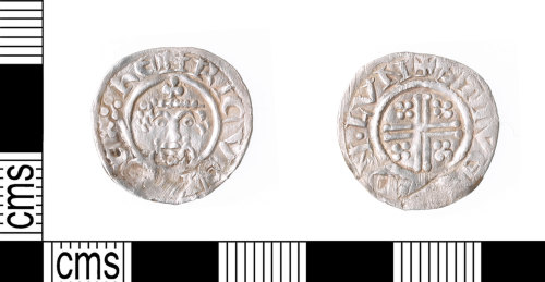 KENT-7A9965: Short cross penny of Richard I