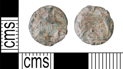 KENT-7D2A61: Wolf and twins coin