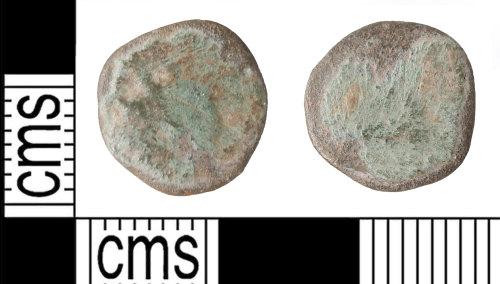 KENT-7EE63D: Possible Gallienus Radiate of zoo centaur type