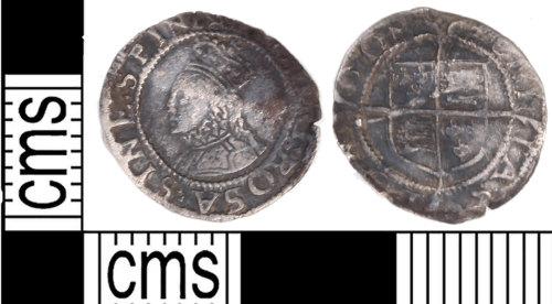 KENT-7F8991: Elizabethan Three Farthing