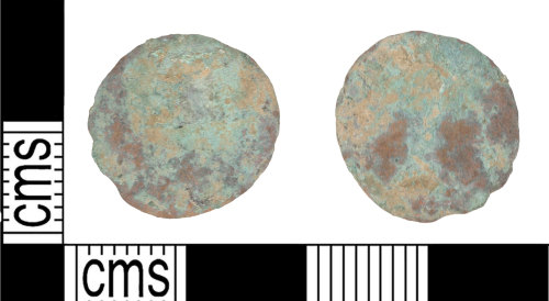 KENT-9350ED: Roman nummus SPES REI PVBLICE – emperor standing left or right?