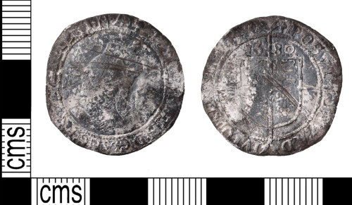 KENT-940D61: Sixpence of Elizabeth
