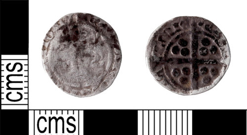 KENT-94ED58: Durham penny of Edward III