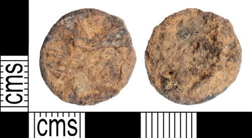 KENT-955297: Illegible Nummus or radiate