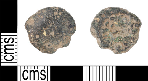 KENT-957329: Plated gold stater