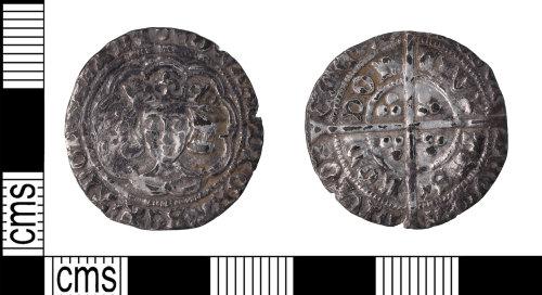 KENT-9D44CD: Edward IV groat second reign