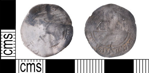 KENT-A3BE8C: threepence of elizabeth first