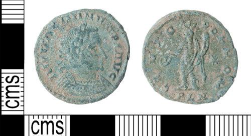 KENT-B405FE: Maximinus II nummus