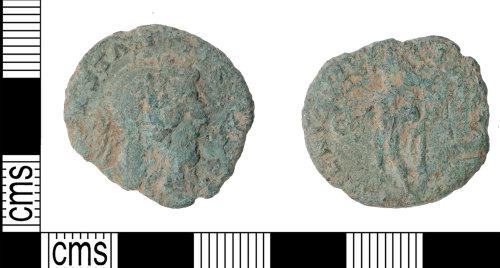 KENT-BC484C: Constantine Genio Pop romani nummus