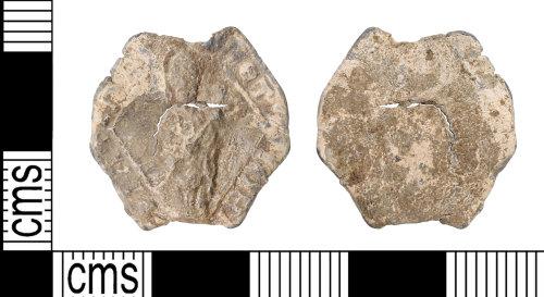 KENT-C4B36C: Lead pilgrims badge
