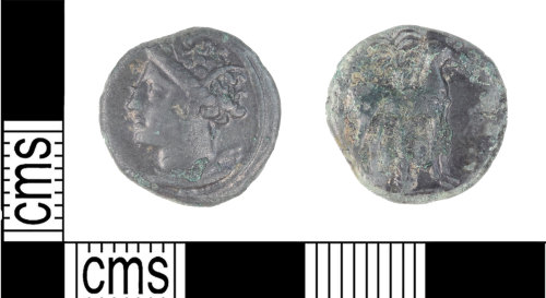 KENT-D28379: Siculo-Punic coin