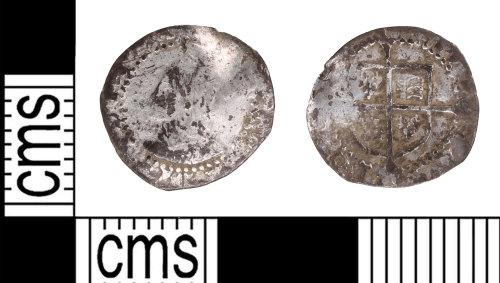 KENT-EA7941: Silver Penny of Elizabeth I
