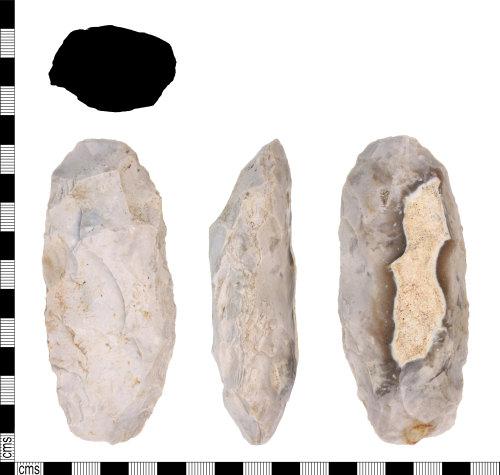KENT-F0C744: Tranchet axe