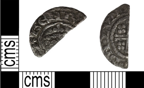 A resized image of Short cross penny of King John