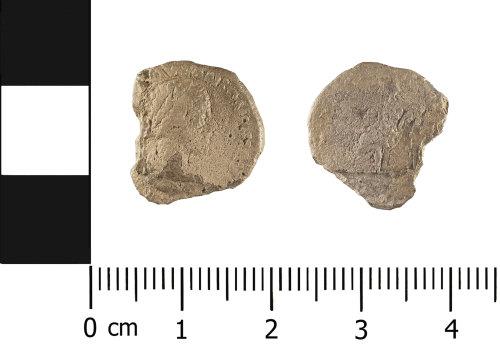 WMID-754299: Roman coin: silver denarius of Lucilla (obverse and reverse)