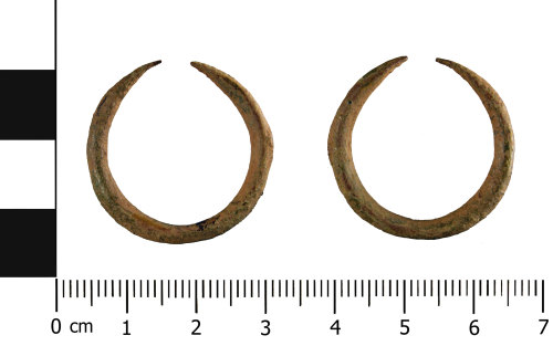 WMID-782030: Roman ear-ring (front and reverse)
