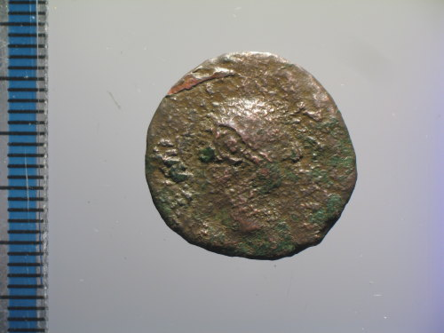 BM-6380CE: Roman coin : semis of Nero (obverse)