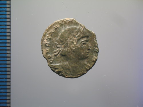 FASAM-924EED: Roman coin: nummus of Constantine II (obv.)