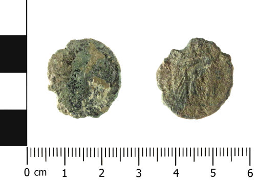 HESH-4BA58E: nummus of the House of Constantine (obverse and reverse)