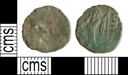 WILT-2F014F: Roman barbarous radiate