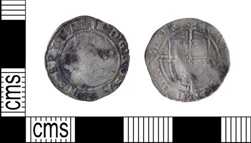 A resized image of Post-medieval halfgroat